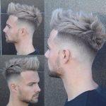Gri Sac Rengi ile uzun amerikan erkek saçı yapılabilir.