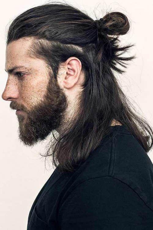 Kısa saça topuz modelleri erkek