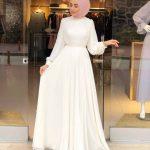 Sünnet annesi kıyafetleri beyaz