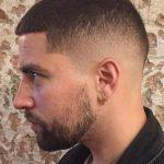 3 numara saç uzun sakal