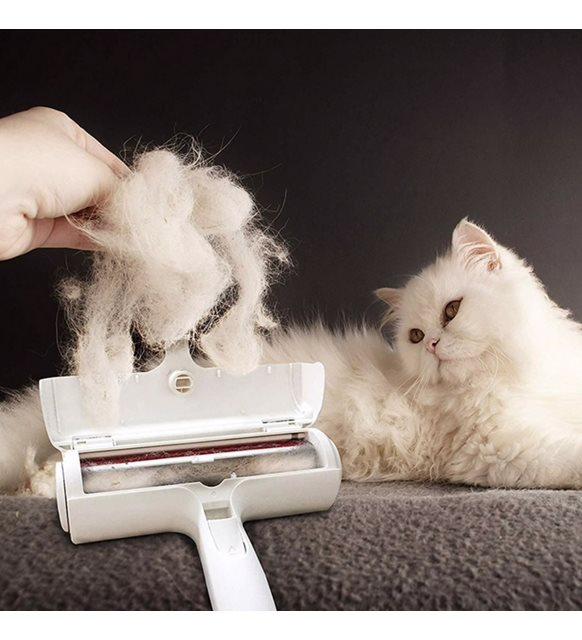 Kedi tüyü toplama makinesi