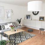 küçük ev dekorasyon salon örnekleri