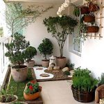 Bahçe dekorasyon saksı