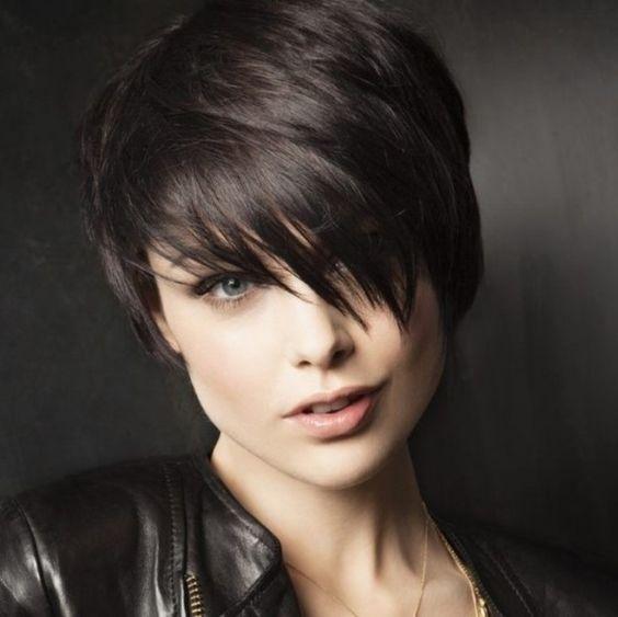 Kalın saç kesim modelleri