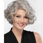 Kalın telli kısa saç modelleri bayan stilleri