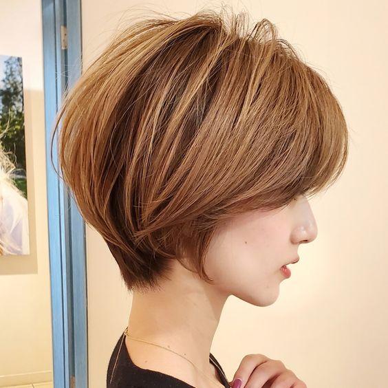 Kalın telli kısa saç modelleri