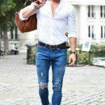 Dar paça pantolonun altına hangi ayakkabı giyilir erkek