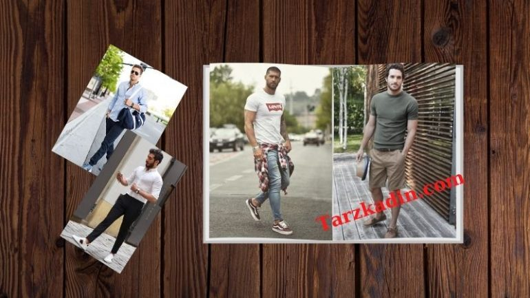 Erkek Yaz Kombinleri- Erkek Yazlık Giyim