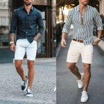 Genç erkek giyim kombini