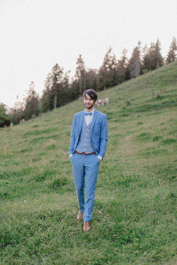 Kır düğünü elbiseleri erkek
