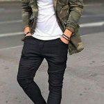 Tarz giyim genç erkek