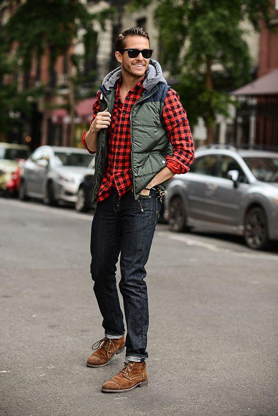 Erkek Kış Giyim Tarzları