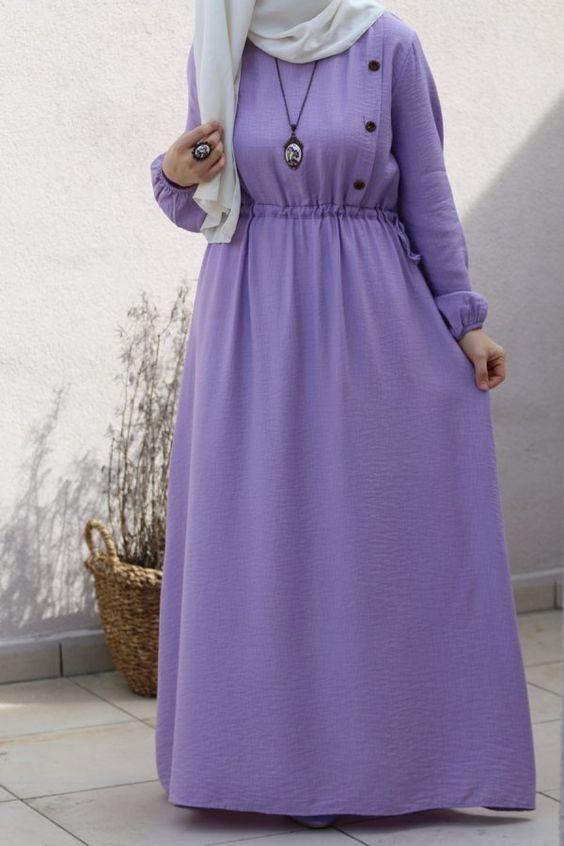 Lila elbisenin üzerine hangi renk şal gider