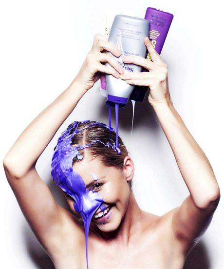 Mor şampuan nasıl kullanılır