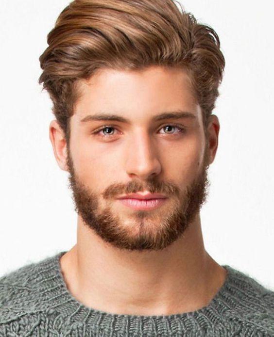 kare yüze saç sakal modelleri