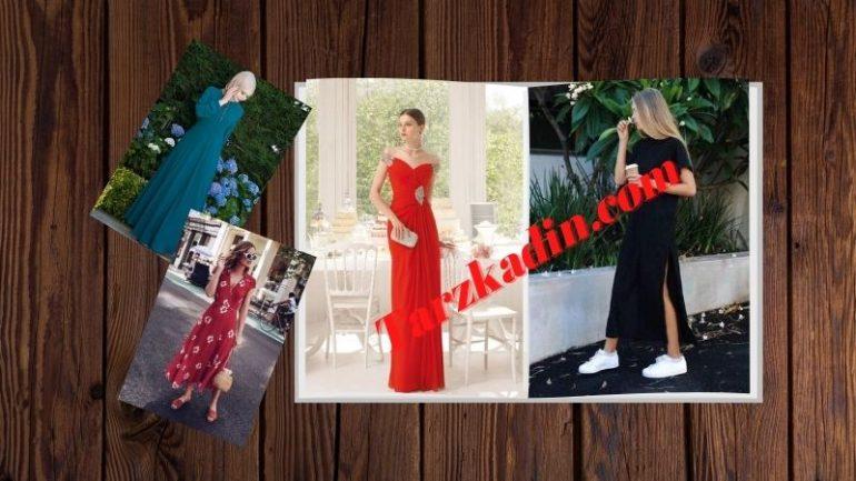 Uzun Elbise Kombinleri (30+Stil)