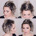 Düğün için kısa şirin saç modelleri