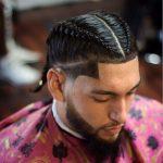 Erkek örgü saç modeli