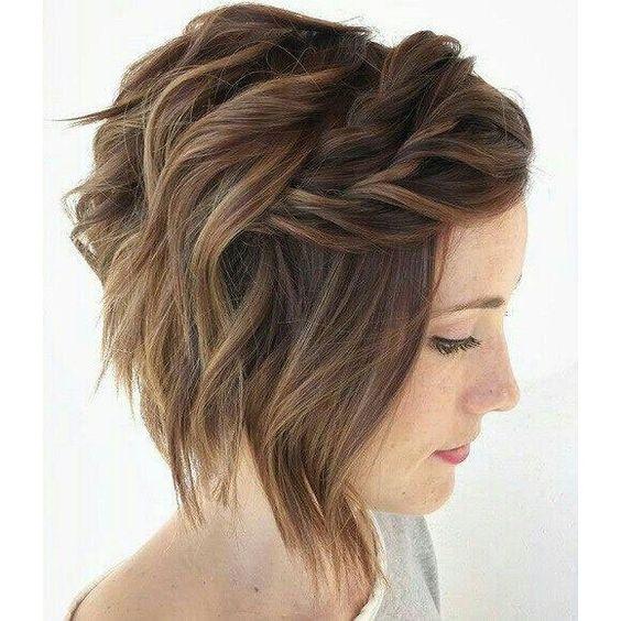Kısa saç modelleri düğün için