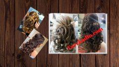 Örgülü Maşa Saç Modelleri Yapımı