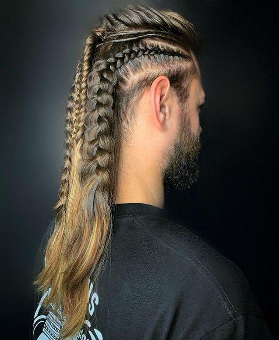 Örgülü erkek saç örgü modelleri