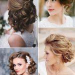 Saç modelleri bayan düğün için kısa saç
