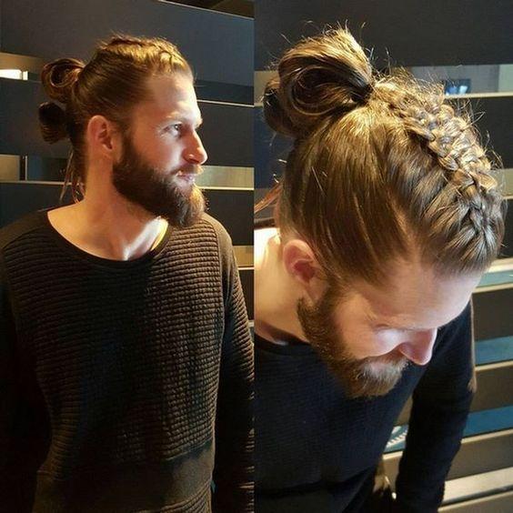 Saç örgü erkek