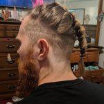 Viking saç modelleri örgü