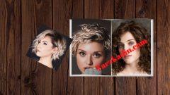 Kısa Saç Maşa Modelleri Yapımı