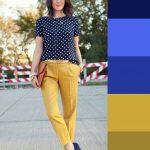 Sarı pantolon üstüne hangi renk giyilir