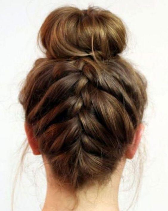 Lise okul saç modelleri kolay