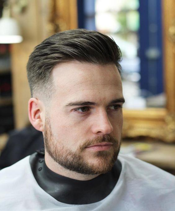 Şişman Erkek Kısa Saç Modelleri ( Fade Saç)
