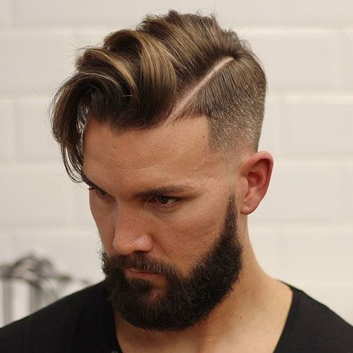 Şişman Erkekler İçin Kısa Saç Modelleri (Undercut Saç)