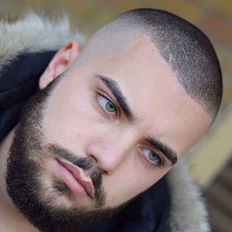Şişman Erkeklere Yakışan Saç Modelleri (Buzz Cut Saç)