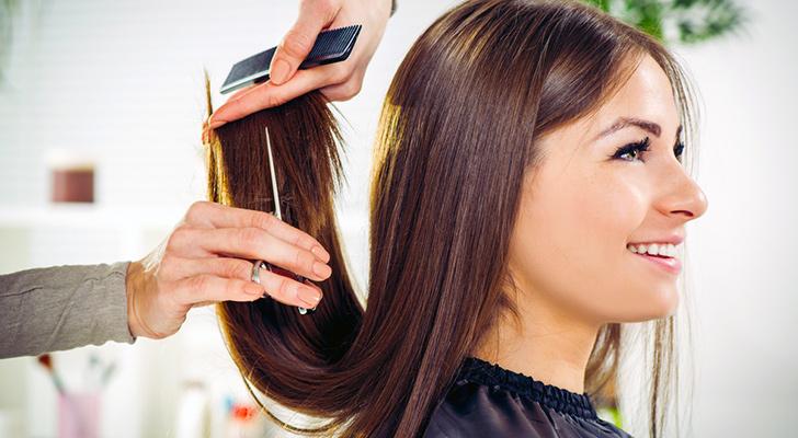 saça ara makas nasıl atılır