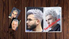 Erkek Beyaz Saç Modelleri Ve Kesimleri
