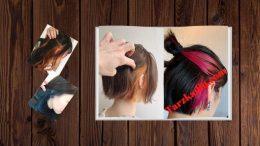 Kulak Arkası Saç Boyama Modelleri Ve Fiyatları